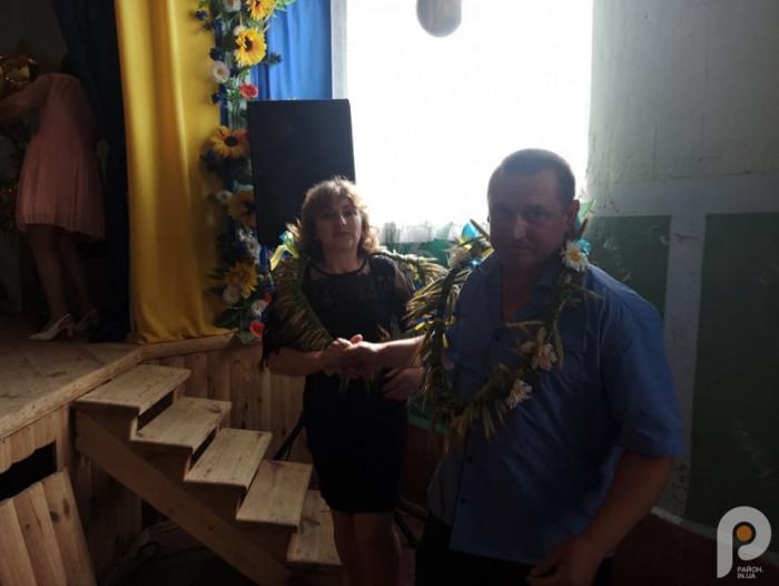 Обжинки. Наталія та Сергій Скляренки