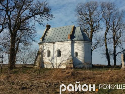 Найдавніша культова споруда Рожищенського району знаходиться у селі Сокіл