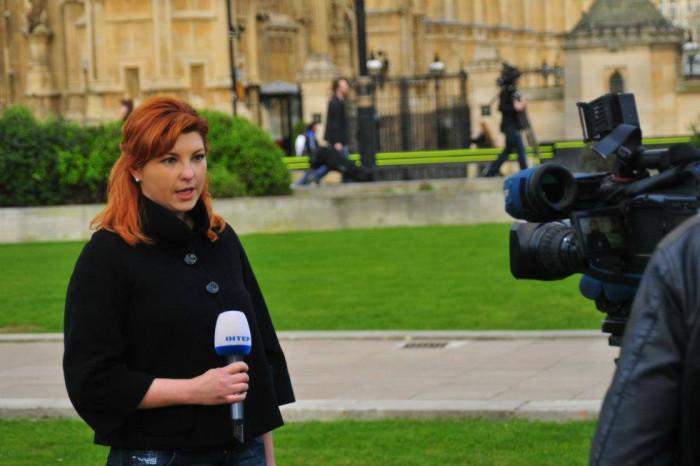 Ганна Гороженко веде репортаж з Лондона