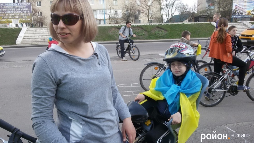 Журналістка Ірина Зенц з сином