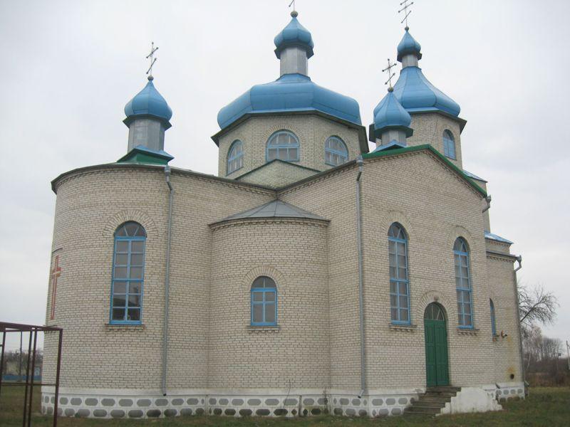 Свято-Михайлівська церква у селі Переспа