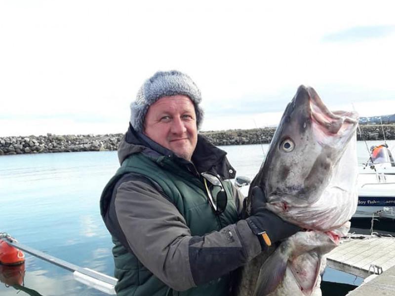 Віктор Лук'янчук і риба