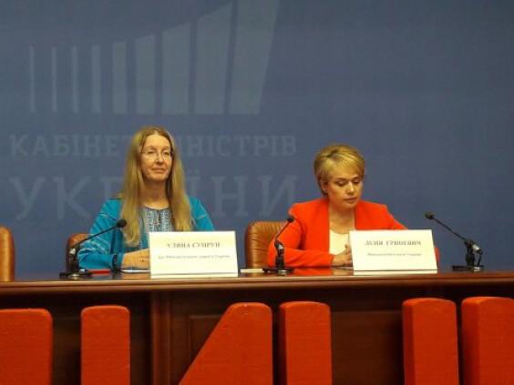 Уляна Супрун та Лілія Гриневич