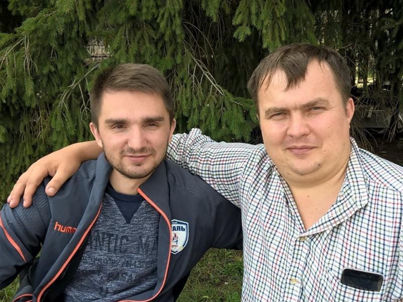 Олександр Романюк та Андрій Рибачук