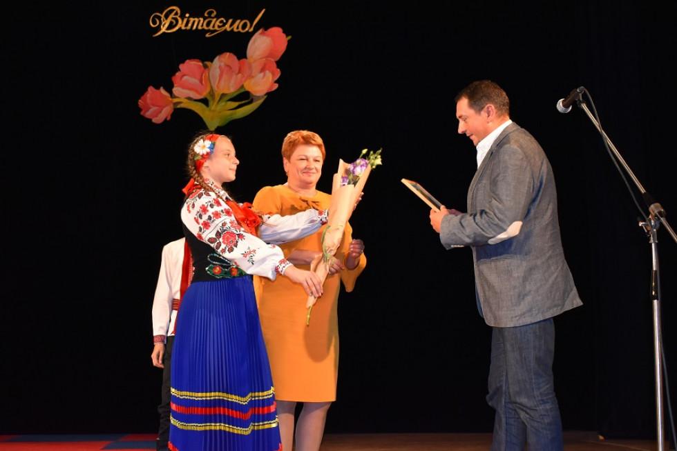 ДиректорРожищенської районної дитячо-юнацької спортивної школи Сергій Приходько отримав відзнаку.