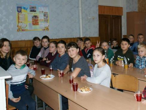Школярі з Арсеном Васечко
