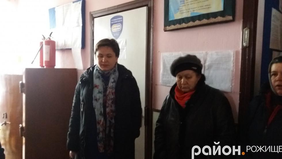 На запрошення громади приїхала головна лікаркаРожищенськогоцентру первинної медико-санітарної допомоги Леся Басалик.