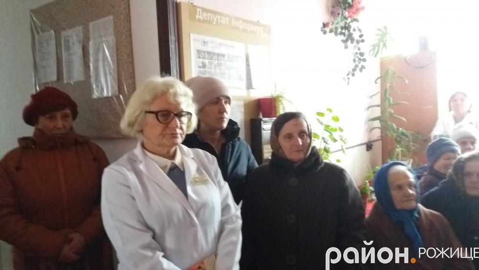 Із сімейним лікарем Сокілської амбулаторії Валентиною Ласкавою декларації заключили понад 1800 пацієнтів.