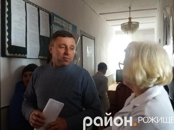 Голова Сокілської сільської ради Олег Бондарук