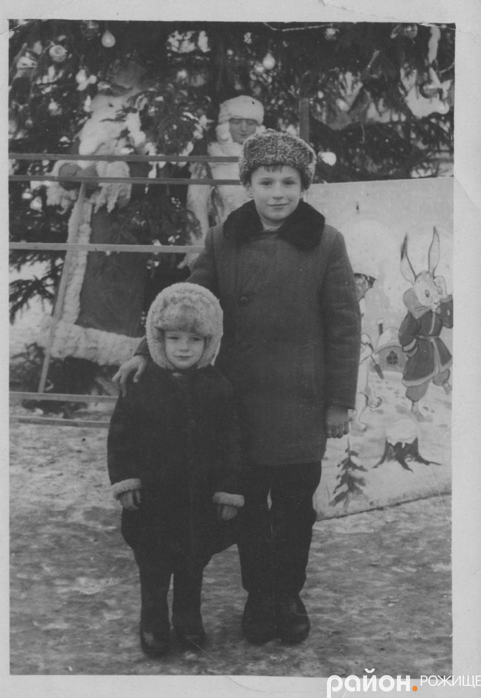 На площі Богдана Хмельницького у 1966 році.