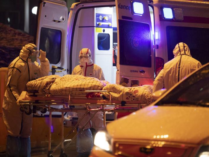Жертви вірусу в Китаї