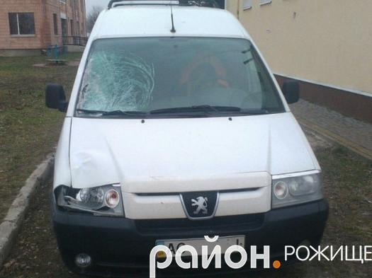Автомобіль «Peugeot Expert» поліцейські знайшли у Княгининку