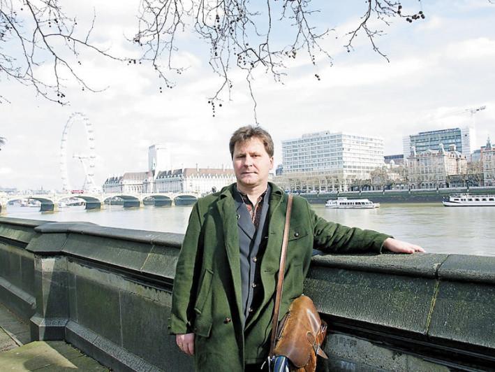 Ігор Павлюк у Лондоні