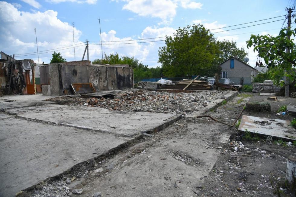 Для відновлення будинку потрібно близько п'яти мільйонів гривень.