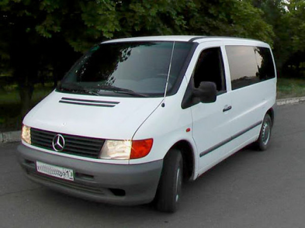 Mercedes Benz Vito 110. Фото ілюстративне