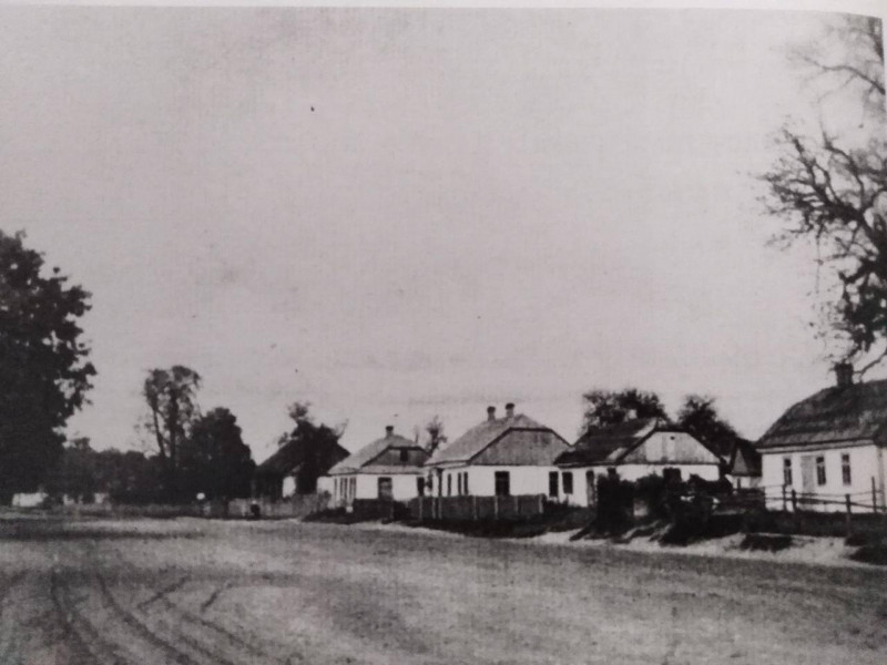 Будинки німецьких колоністів на Вовнянці