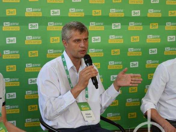 Вячеслав Рубльов під час передвиборчої кампанії у 2019 році