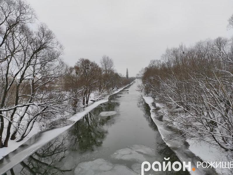 Річка Стир у Рожищі