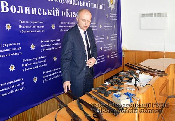 Начальник управління превентивної діяльності ГУ НП в області Володимир Солоненко