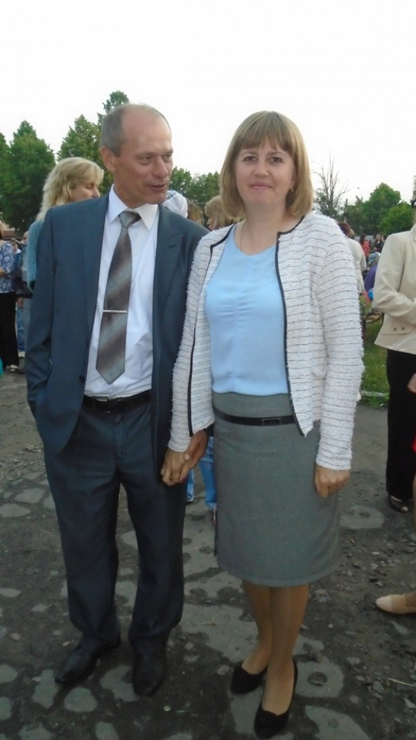Копачівський сільський голова Олександр Совтис з дружиною