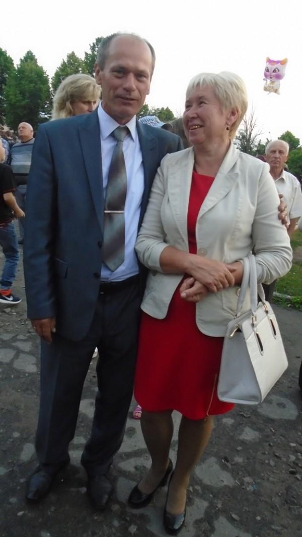 Колеги: Копачівський сільський голова Олександр Совтис та Лілія Коцюбайло, Березолуківський сільський голова