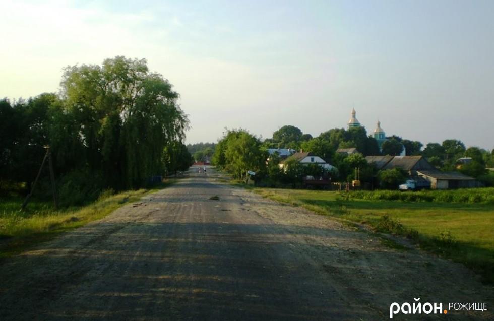 В`їзд в село Іванівка