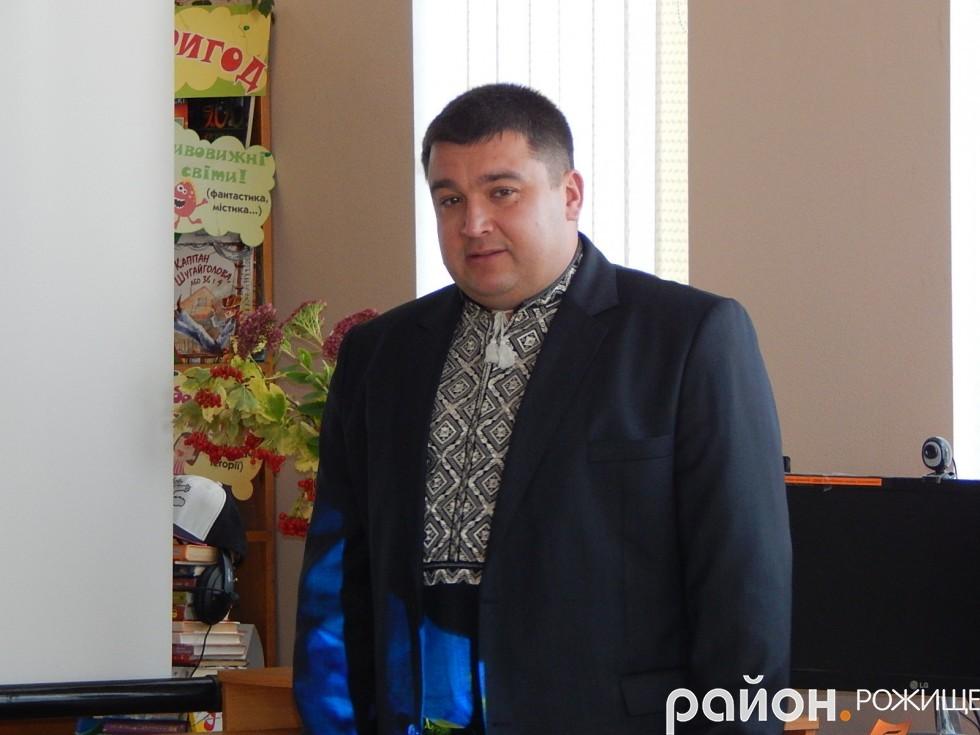 Презентацію книги Валентина Малиновського відвідав Рожищенський міський голова В`ячеслав Поліщук