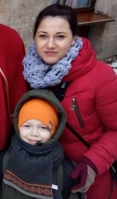 Анастасія Стасюк, волонтер ГО «Самооборона міста Рожище»