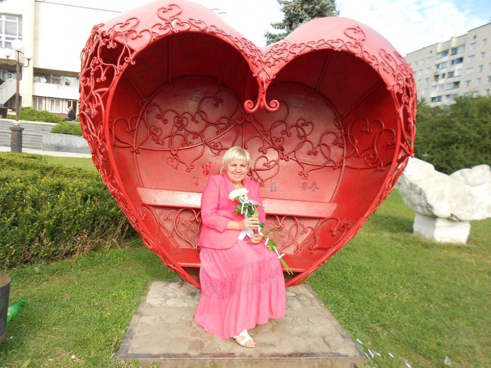 Ольга Чайка, працівник Рожищенської ЦРЛ, мама Героя України Павла Чайки
