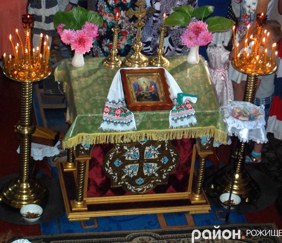 Свято-Різдво-Богородичний храм села Топільне