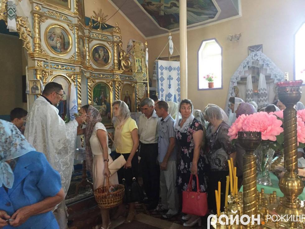 Храм Різдва Пресвятої Богородиці міста Рожище