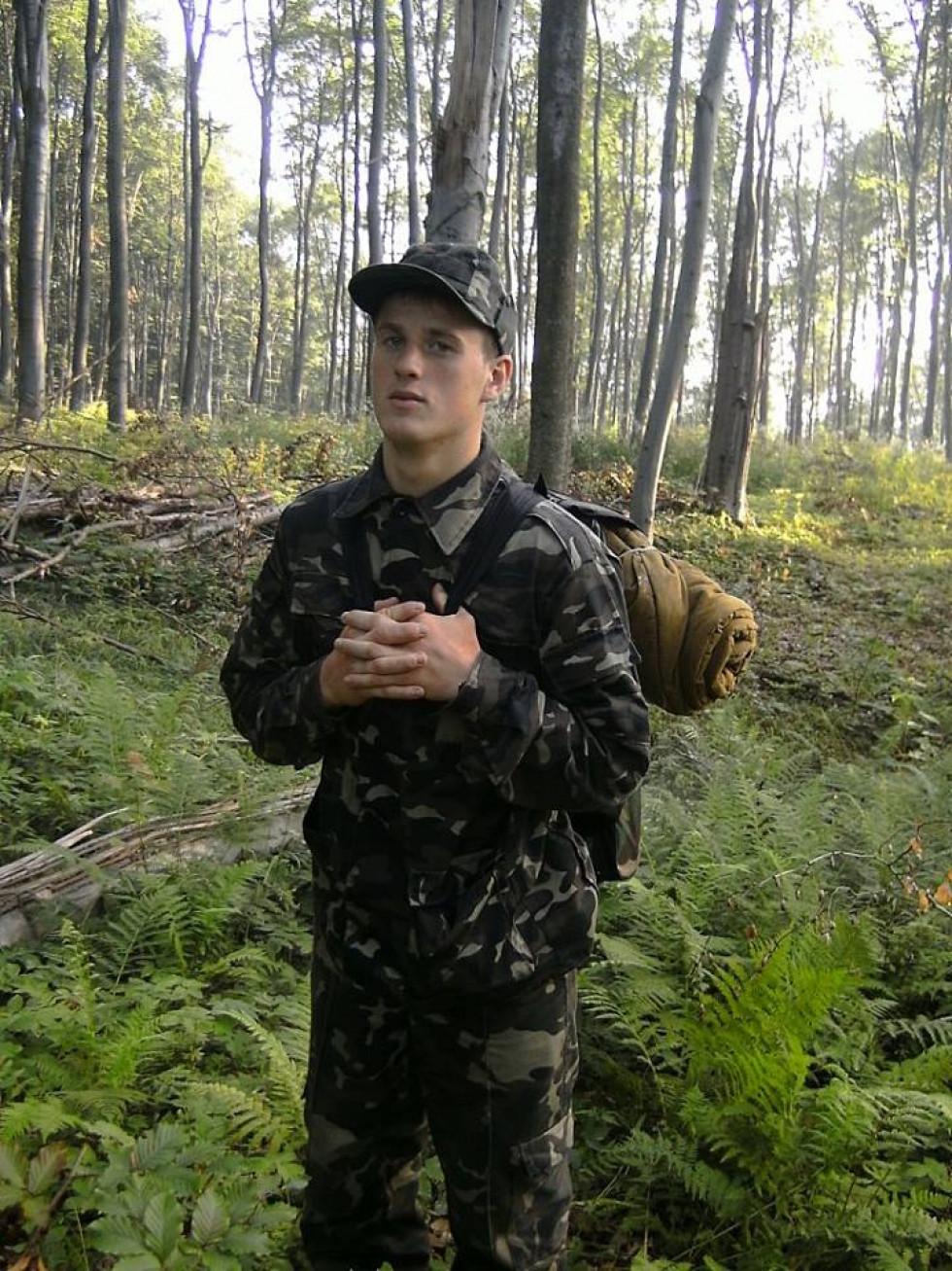 Богдан Бальбуза, захисник України, керівник «Центру національно-патріотичного виховання», журналіст