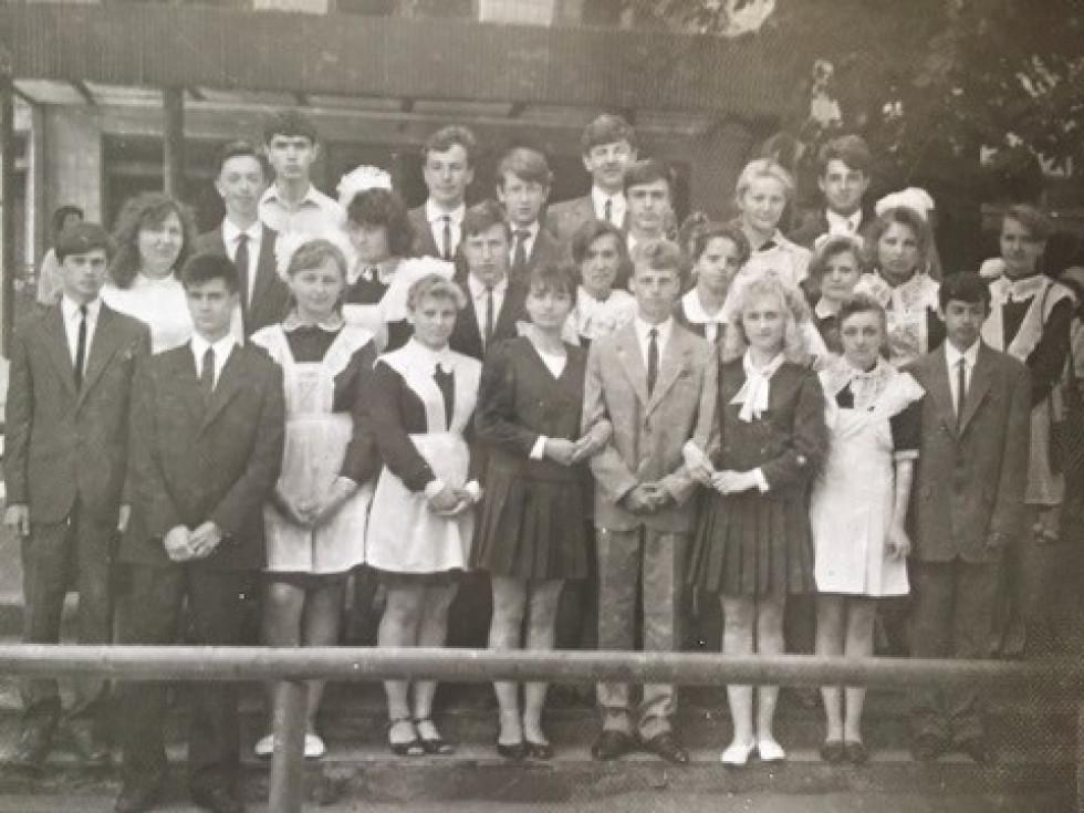 Випуск 1993 року Рожищенськоі школи N2