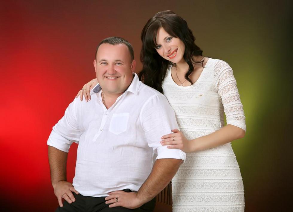 Юрій Потрапелюк з дружиною
