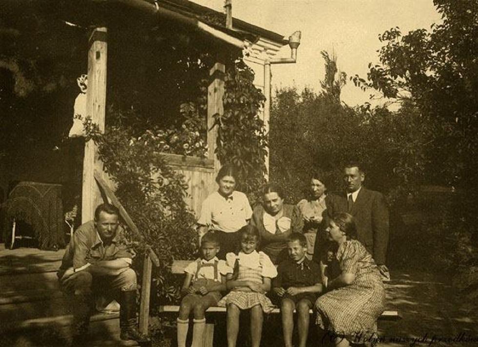 Romanówka, 30-ті роки. Сімейне фото.
