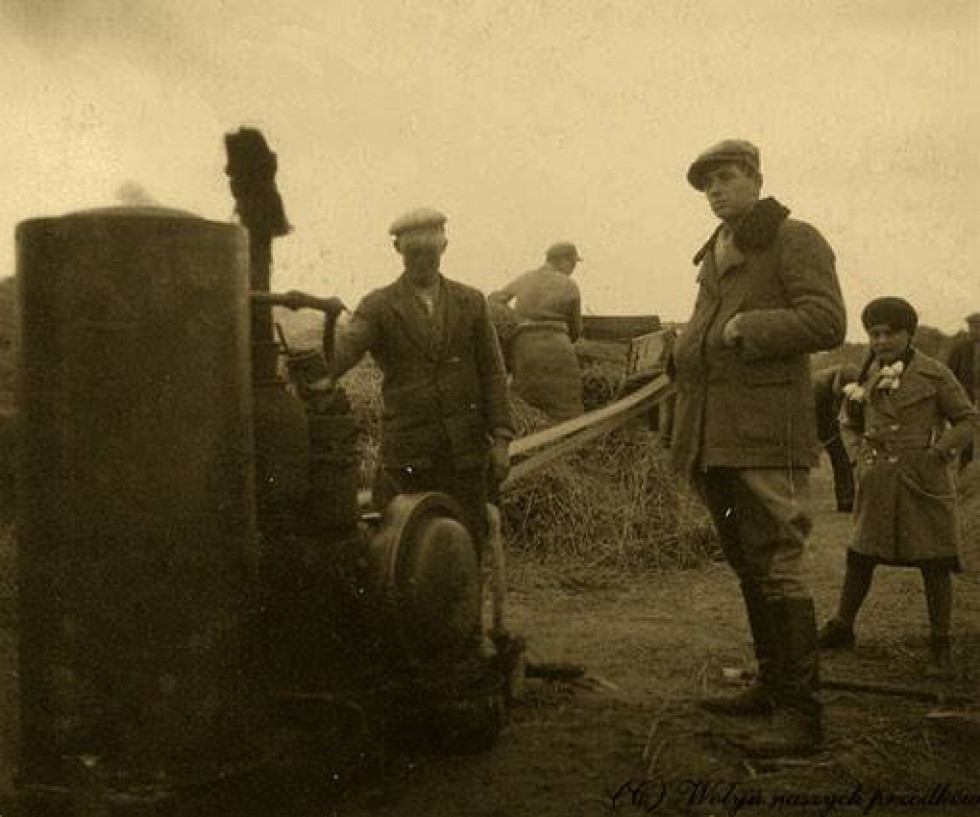 Romanówka, 1932р. Жнива.