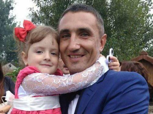 Олександр Крушевський з донечкою