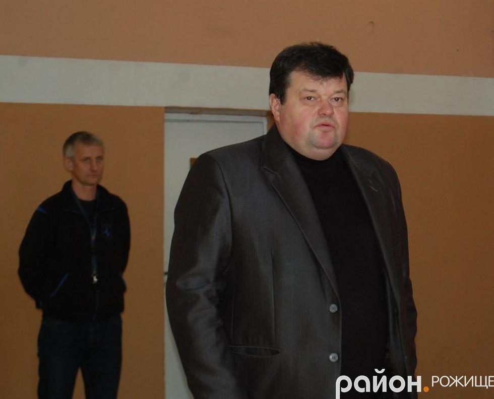 керівник методичного кабінету відділу освіти району В'ячеслав Сидорук