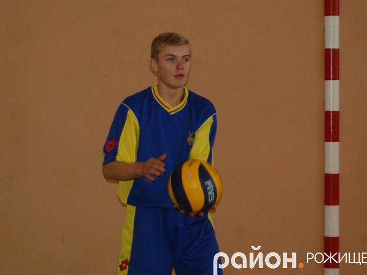 Гравець команди з Ворончина