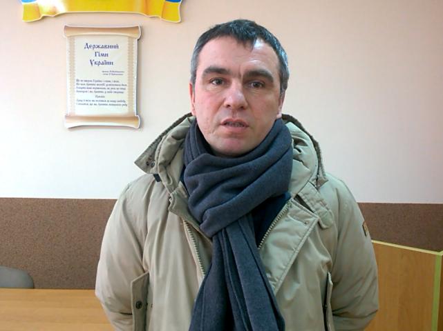 Депутат Олександр Дулюк, ініціатор створення Програми розвитку футболу