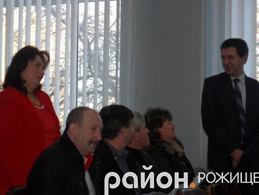 Новообрані депутати районної ради