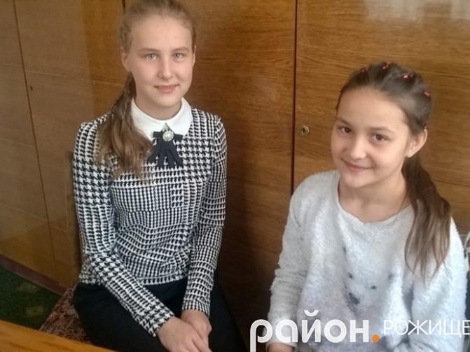 Ніна та Улянка Глинюки