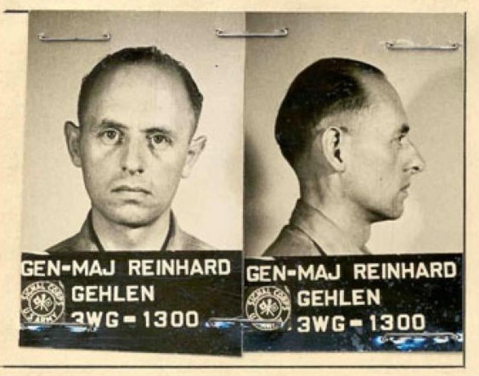 Генерал Гелен після війни в американському полоні