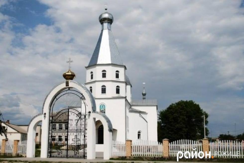 Свято-Вознесенський храм в Копачівці