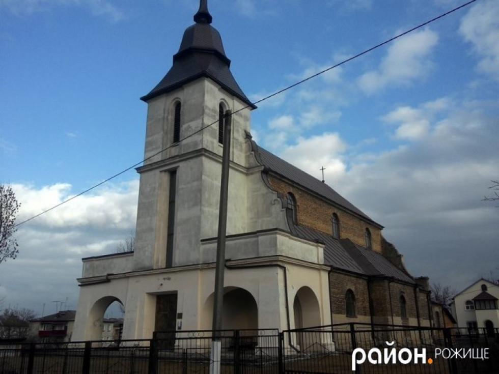 Костел Преображення Господнього в м. Рожище
