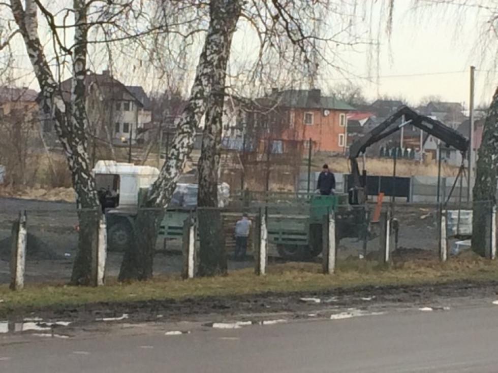 Роботи на спортмайданчику Рожищенської ДЮСШ згорнули