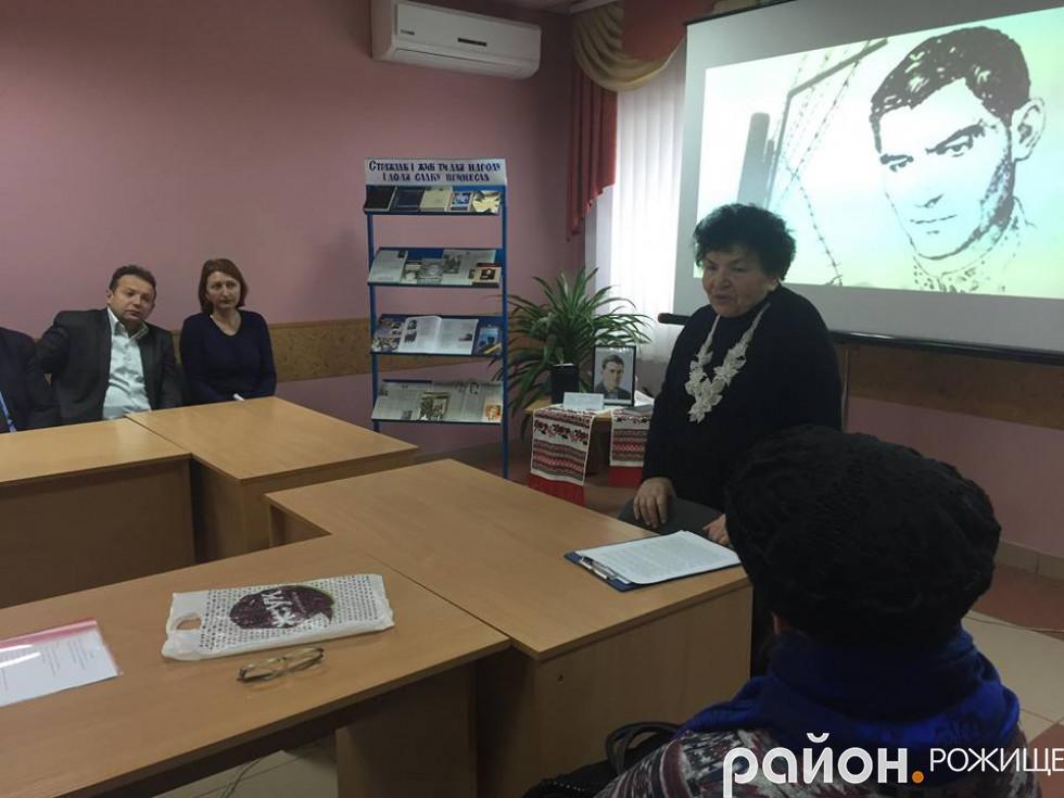 Марія Рейкіна – голова районної організації «Союзу Українок»