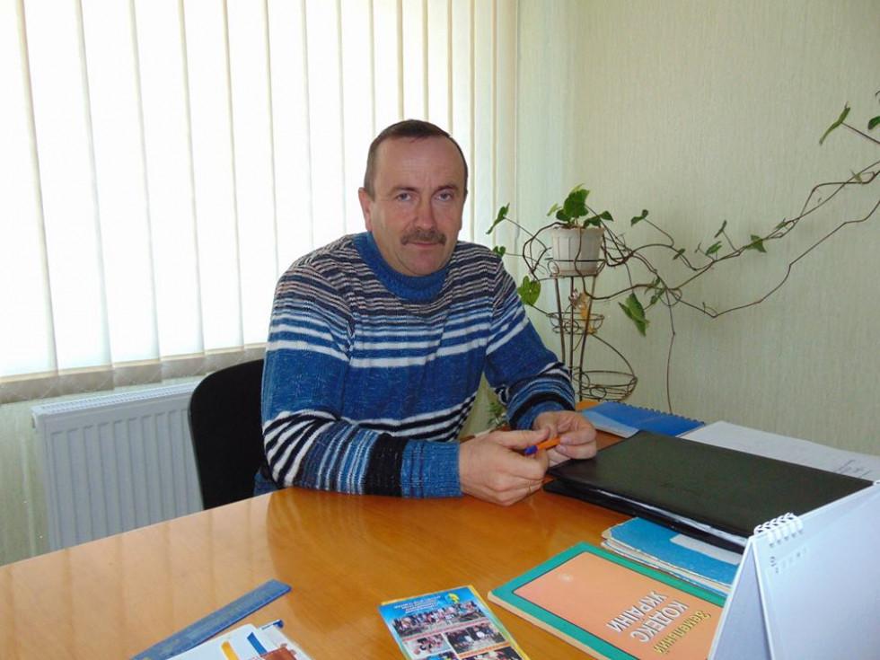Буцинський сільський голова Петро Кошелюк