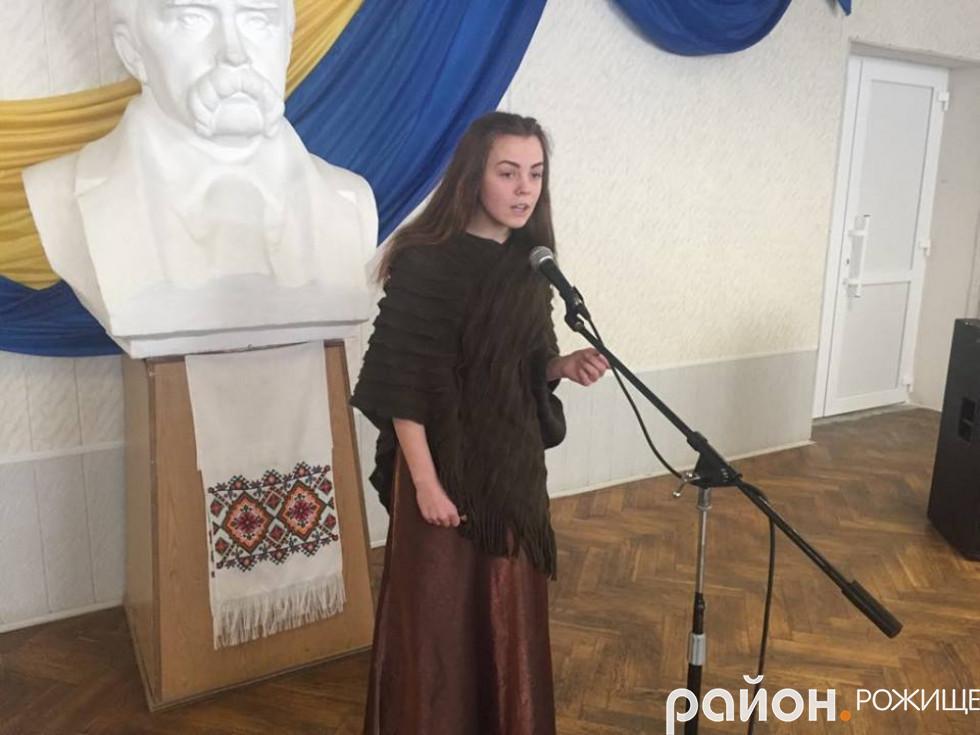 Антоніна Нечипорук І місце с.Сокіл