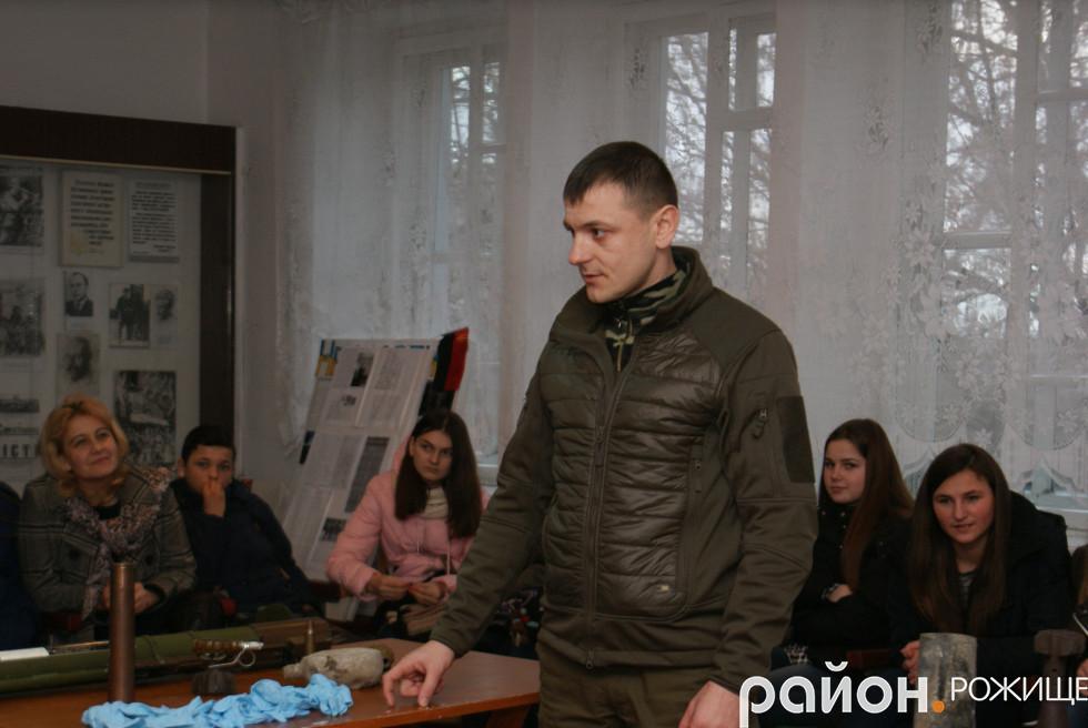 Михайло Андріюк з Луцька
